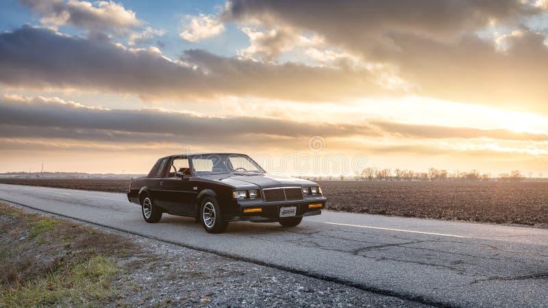 Buick 1985 Grand National stockbilder