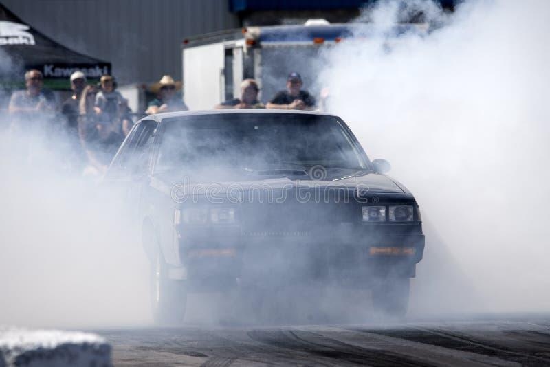 Buick-Grand National-Rauchshow stockfoto