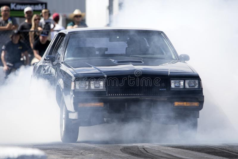 Buick grand national smoke show stock images