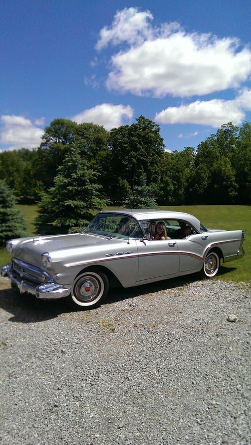 1957 Buick lata czasu zabawa zdjęcie royalty free