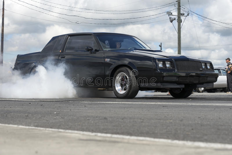 Buick-Rauchshow lizenzfreie stockfotografie