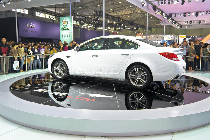 Buick Regal booth royalty free stock photos