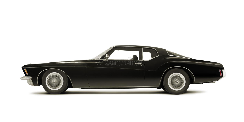 Buick Riviera 1972 lizenzfreies stockbild