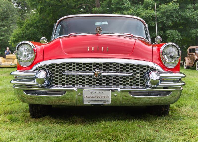 Buick Roadmaster 1955 stockbilder