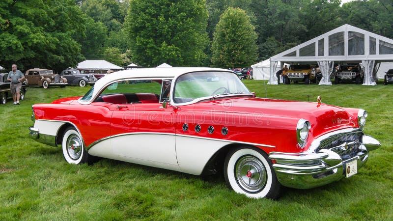 1955 Buick Roadmaster, EyesOn Design, MI royalty free stock image