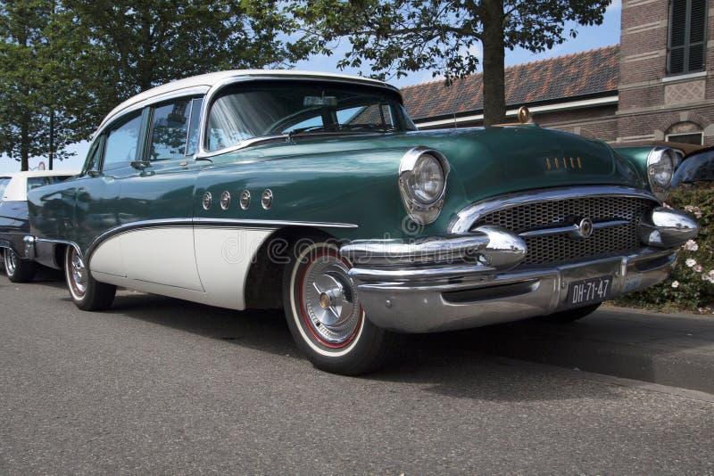 Buick Roadmaster rocznika oldtimer samochód zdjęcia stock