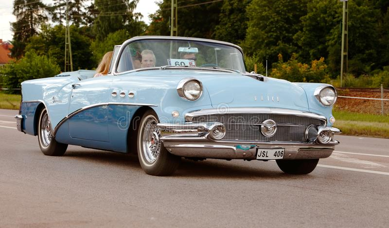 Buick-Special 1956 lizenzfreies stockbild