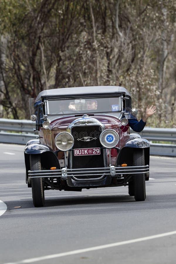 1929 Buick srebra rocznicy terenówka zdjęcie stock