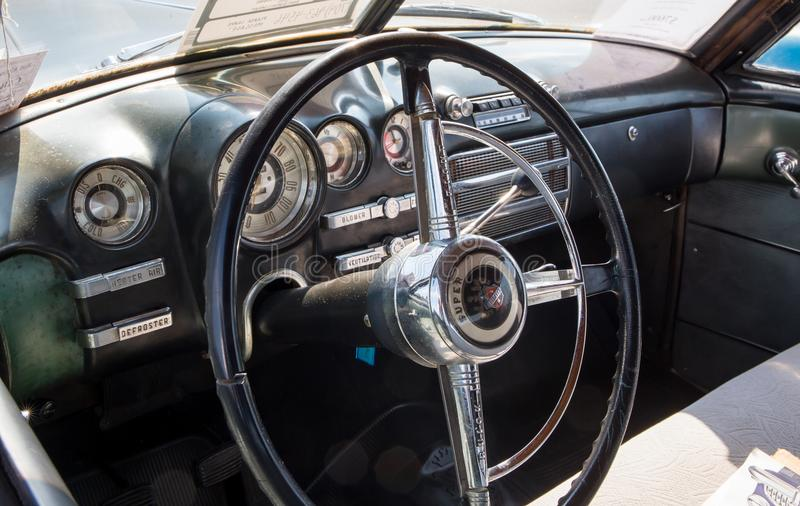 Buick 1949 Super lizenzfreies stockbild