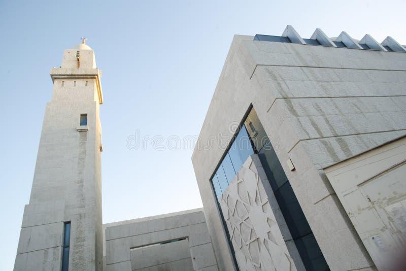 Buidling islâmico moderno imagem de stock
