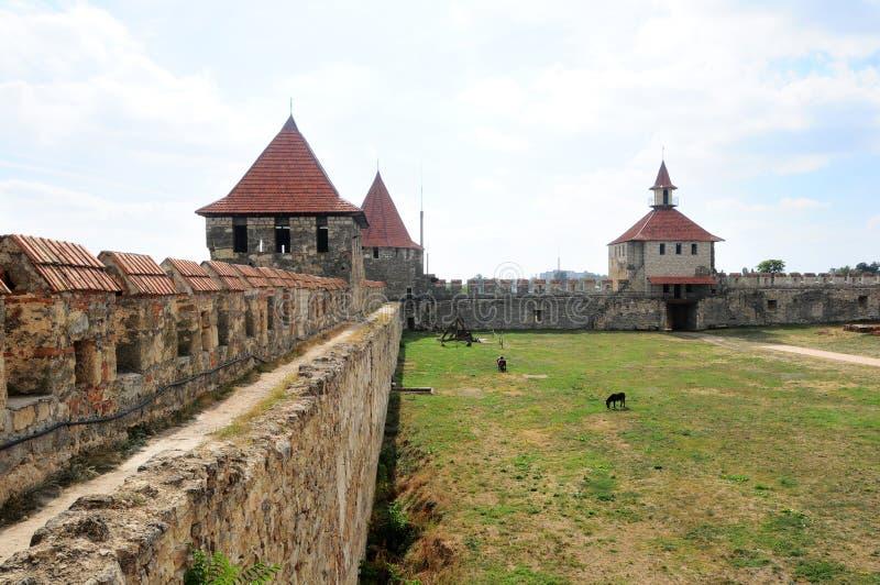 Buigmachine, Transnistria: Benderyvesting Cetatea Tighina in Transnistria royalty-vrije stock afbeelding
