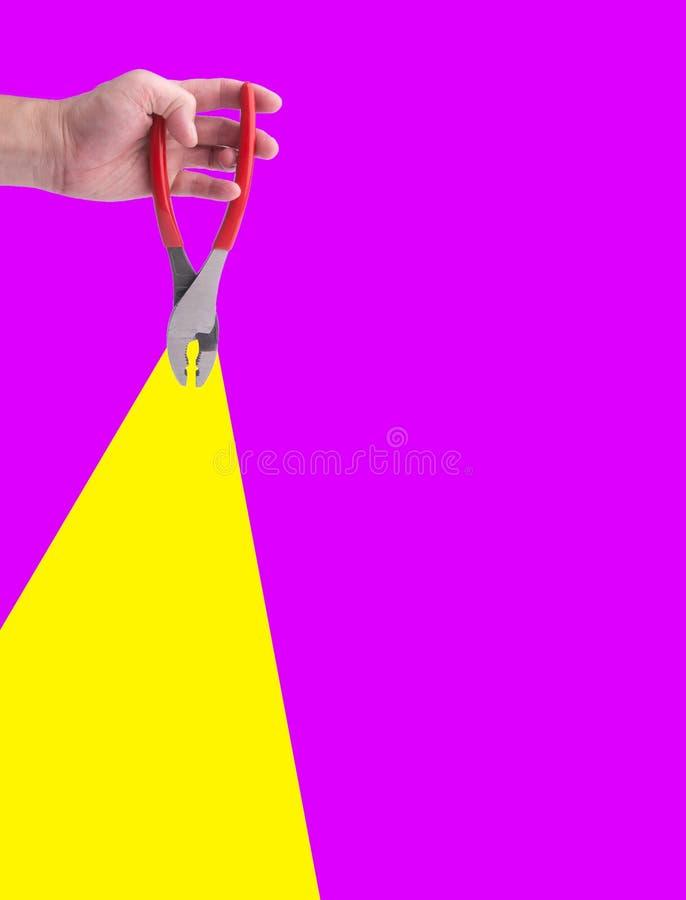 Buigtang of Buigtang ter beschikking op de achtergrond stock afbeeldingen