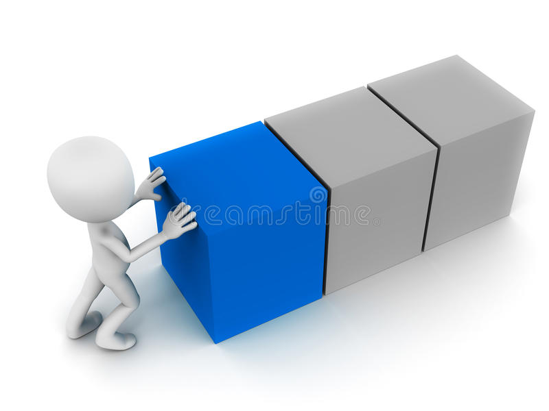 Download Build stock illustration. Image of tiny, placing, block - 29082796