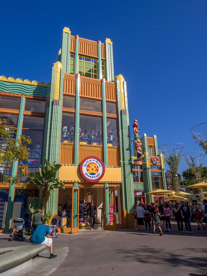 Build A Bear In Downtown Disney Editorial Photo Image Of