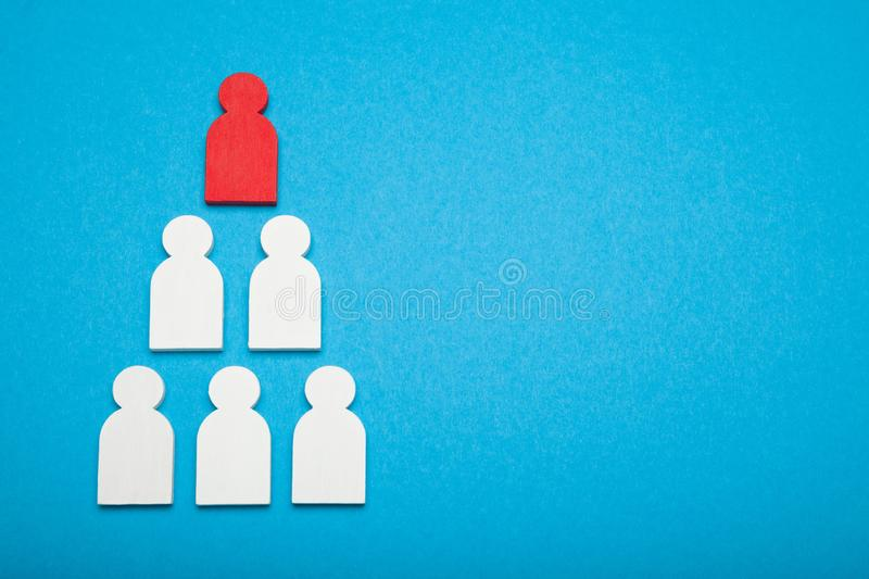 Build business career, choice employee candidate. Examination and choose royalty free stock image