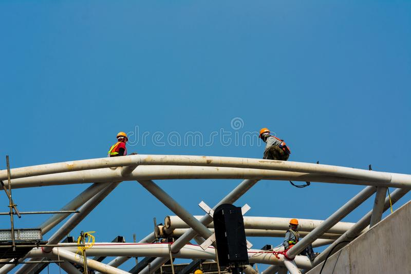 build infrastructure royalty free stock image