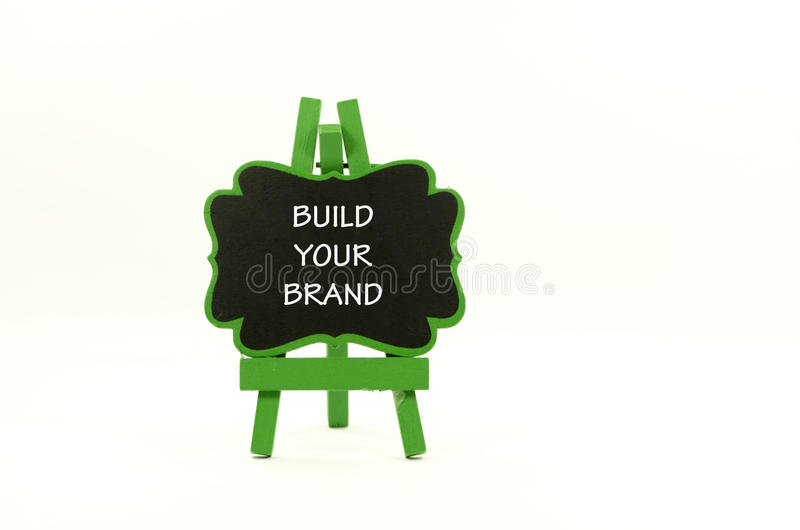 Build your brand royalty free stock photos