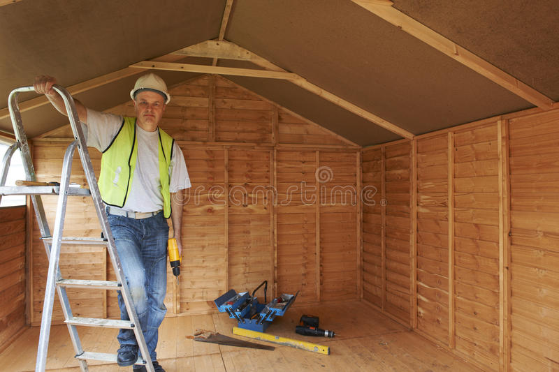 Download Builder stock image. Image of power, occupation, shed - 23951447
