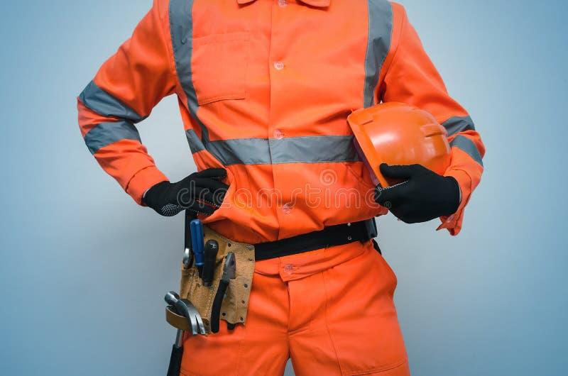 Builder. Worker. Repairman. royalty free stock photo