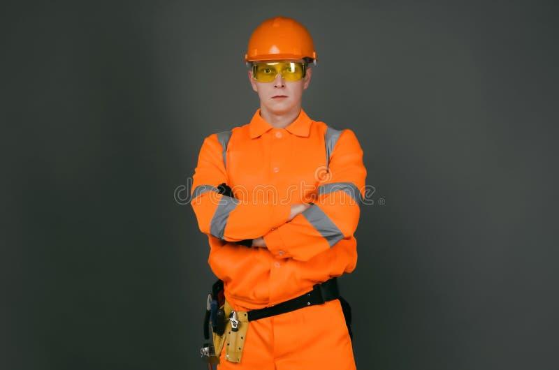 Builder. stock image