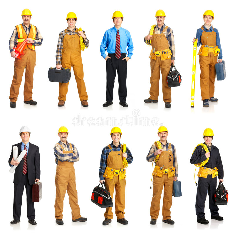 Download Builder people stock photo. Image of manufacturing, contractor - 8514826