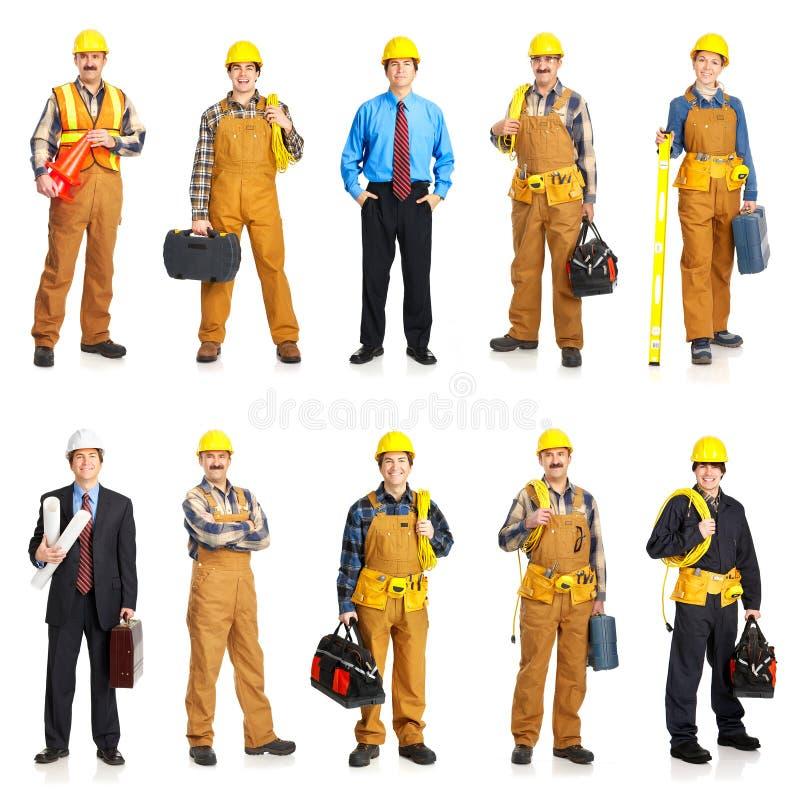 Builder people royalty free stock image