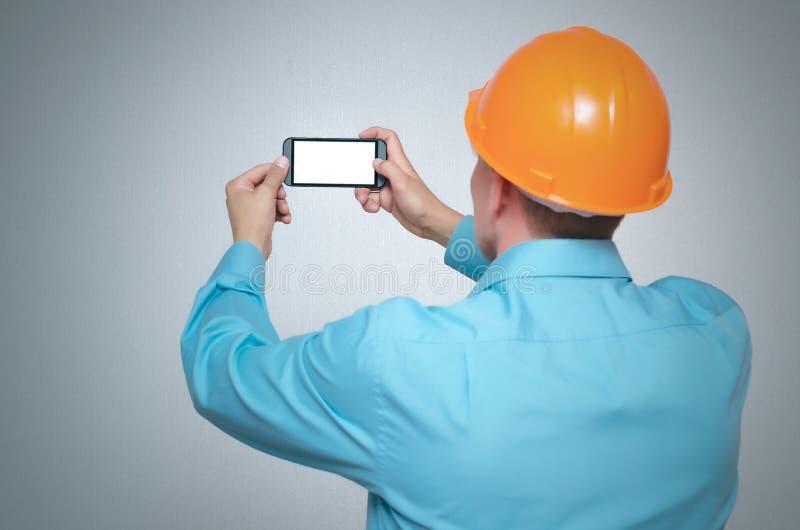 Builder worker. stock photo