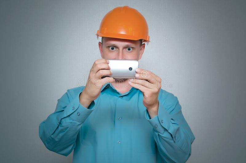 Builder worker. stock images