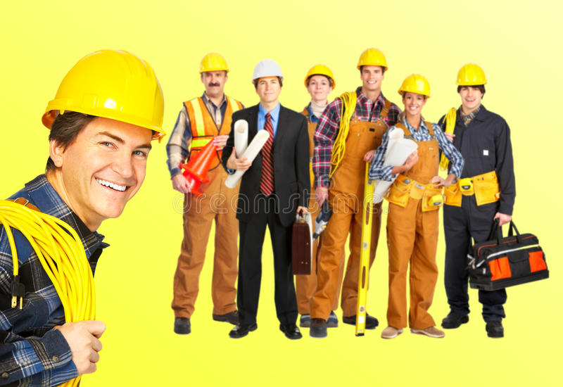 Download Builders workers stock photo. Image of corporate, architect - 12433490