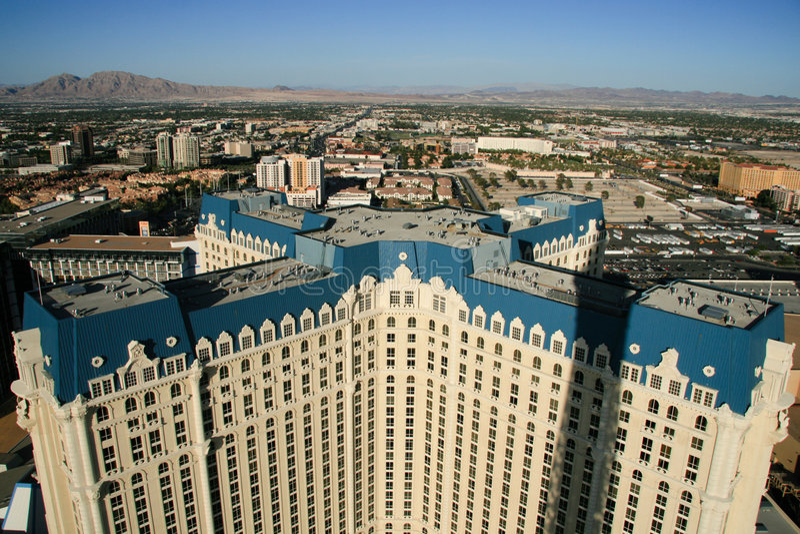 Paysage urbain de Las Vegas photo stock