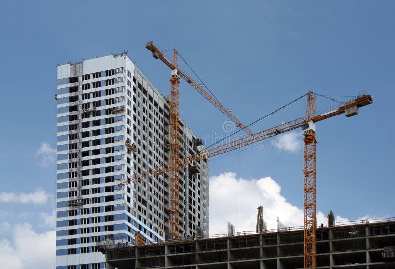 buildin nowoczesna konstrukcja zdjęcie stock