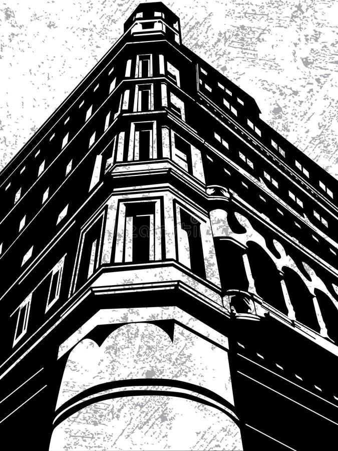 Download Building stock vector. Image of illustration, metropolis - 21275820