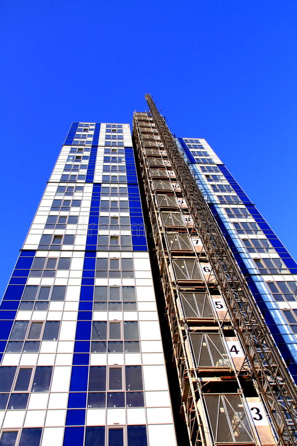 Building 25. Image of buildings in london town under construction stock images