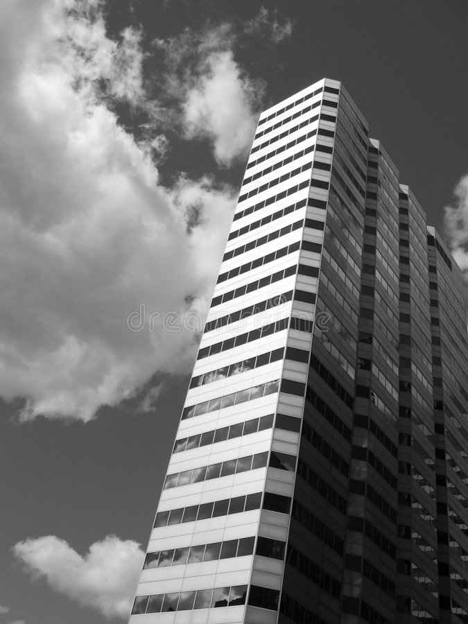 Building. In Montreal stock image