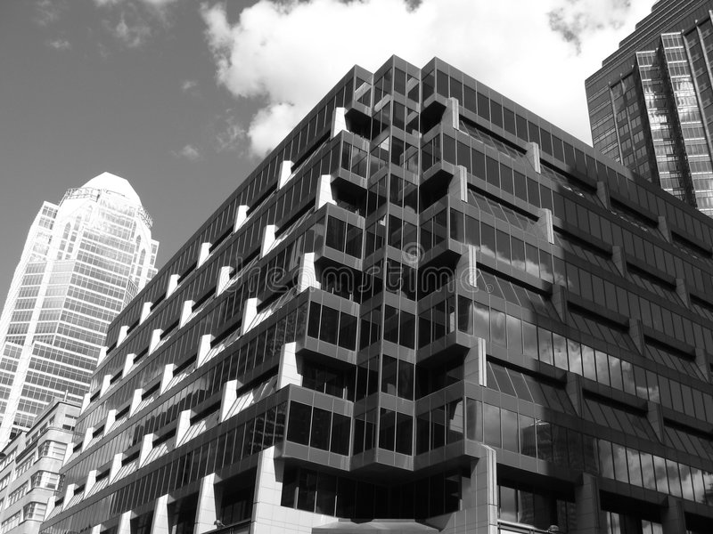 Building. In New York royalty free stock photography