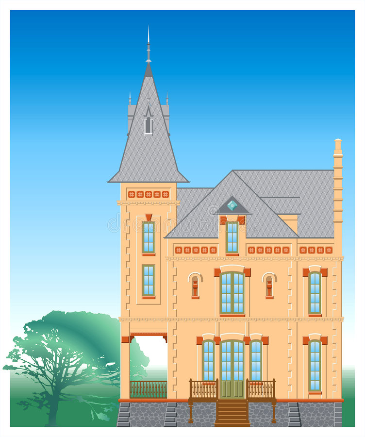Download Building stock vector. Image of clipart, porch, front - 4780780