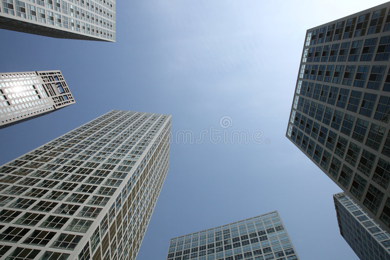 Download Building stock photo. Image of buildings, sunshine, noon - 7275278