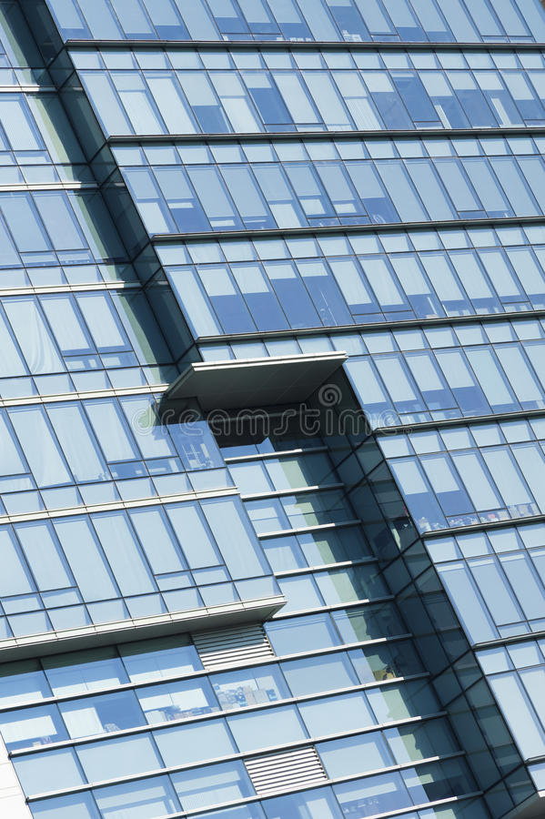 Building abstract. Details of modern office building royalty free stock photo