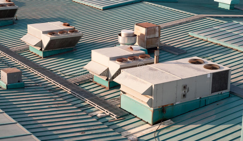Download Building Air Vents stock photo. Image of nobody, rooftop - 13751814