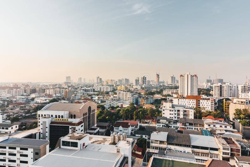Building in Bangkok of Thailand royalty free stock photography