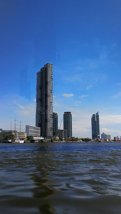 Building in Bangkok Thailand stock images