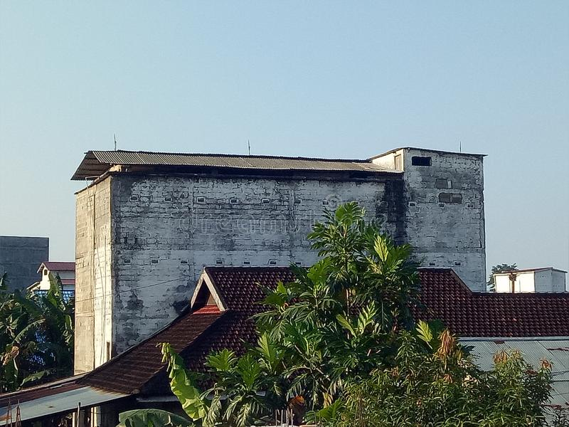 Building or bangunan kuno royalty free stock images