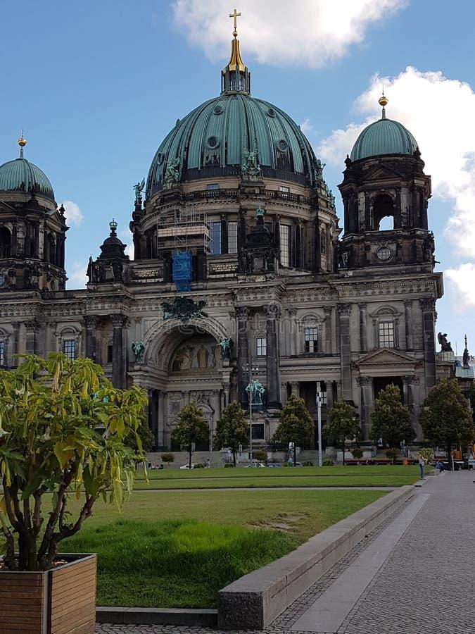 Building in Berlin (german dom) royalty free stock image