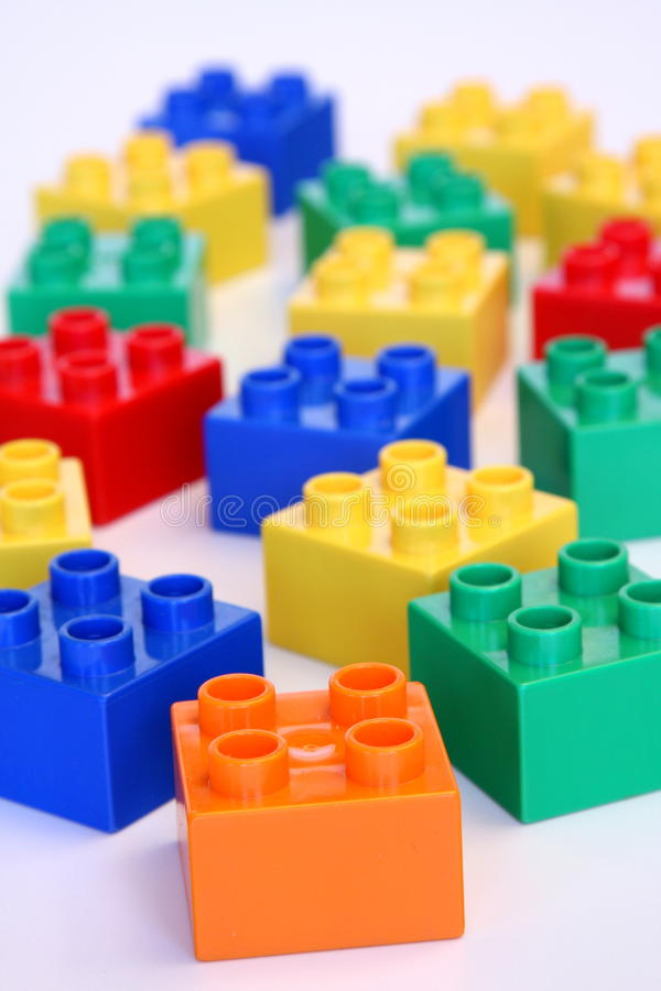 Download Building blocks stock image. Image of colorful, children - 12760903