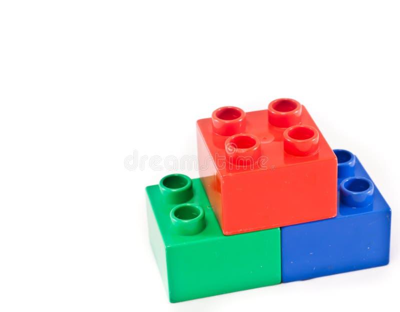 Building blocks stock images