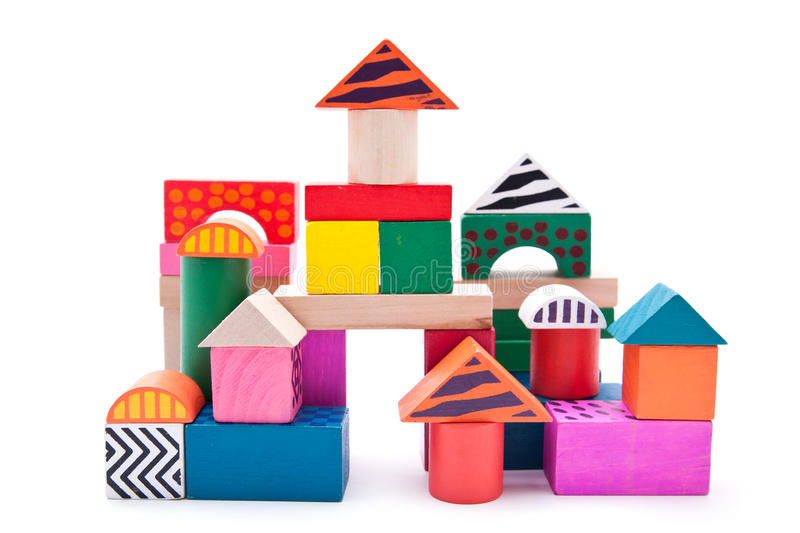 Download Building blocks stock image. Image of learning, stack - 19111897