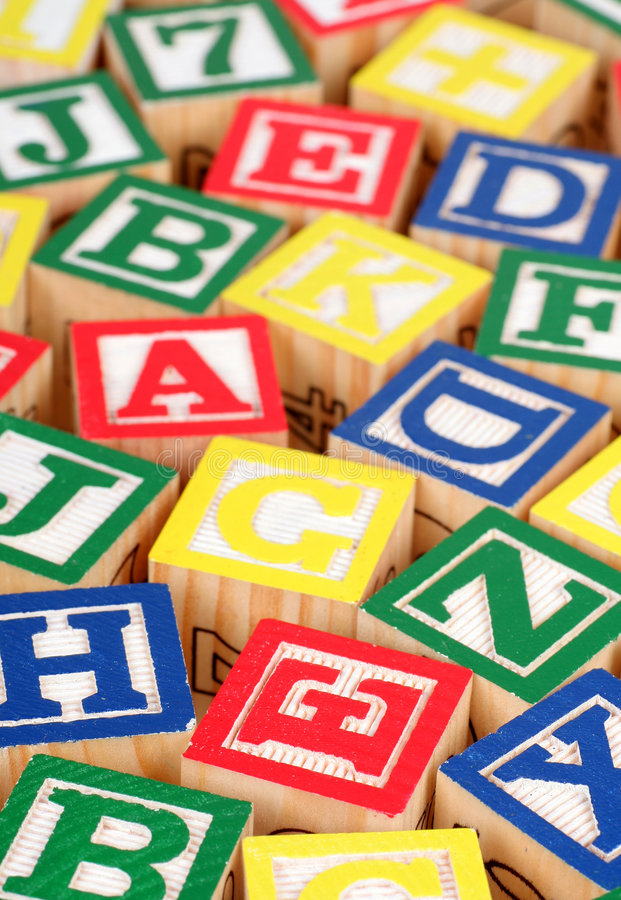 Download Building Blocks stock photo. Image of educate, white, spelling - 2236698