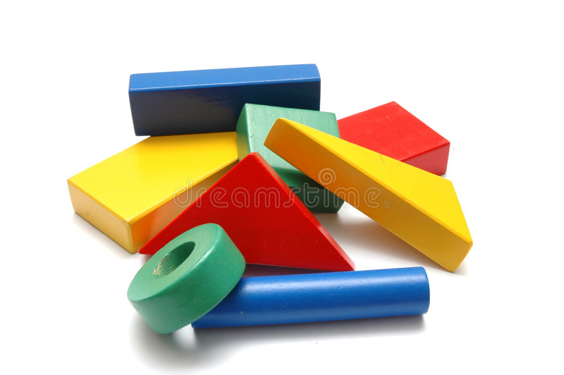 Building Blocks 3 stock photos