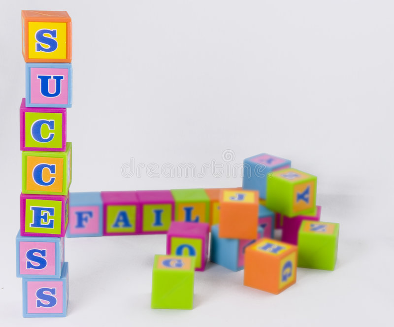 Download Building blocks of success stock photo. Image of business - 4826616