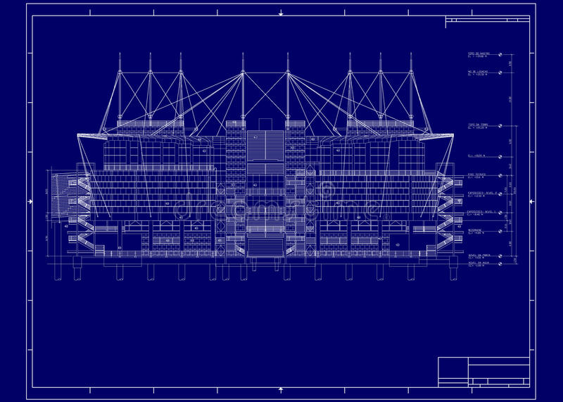 Building blueprint stock illustration illustration of autocad download building blueprint stock illustration illustration of autocad 14637038 malvernweather Image collections